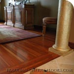 wood brazilian cherry flooring